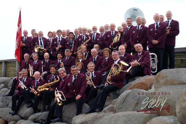 Musikkorps gruppe havnen