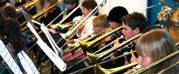 Musikkorps Sæby er vært ved seminar for ungdomsorkestre.