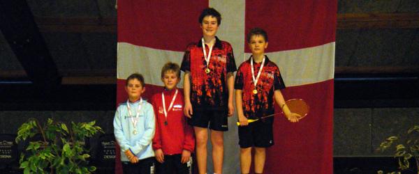Sæby Badmintonklub fik sølvmedalje