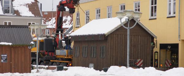 Julemanden flytter fra Sæby i dag