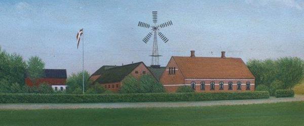 Lokalhistorisk Forening registrerer gårdmalerier