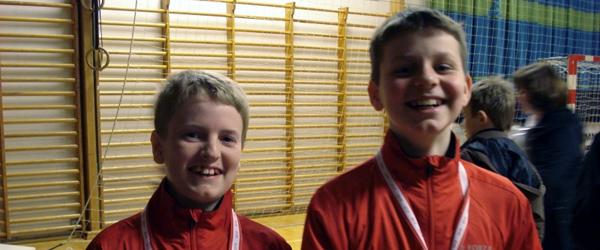 Atter medaljer til unge badmintonspillere fra Sæby