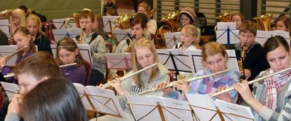 550 unge norske musikere samlet i Sæby