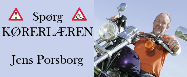 Spørgsmål til kørelærer Jens Porsborg