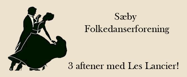Sæby Folkedanserforening  – så starter Les Lancier!
