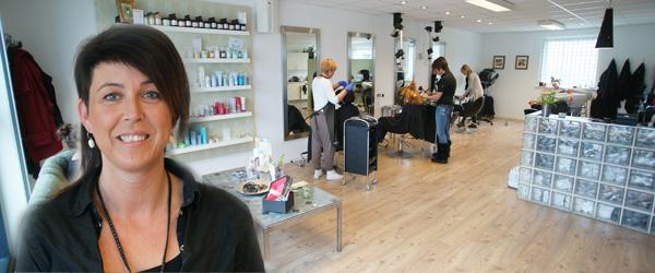 5 års fødselsdag hos frisør Lisbeth Kristensen