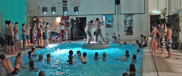 90 unge mennesker til AquaDisko i Sæby