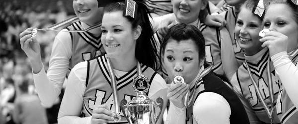 Masser af Sæby piger til DM i cheerleading