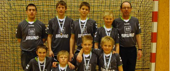 DHF U14 drenge fik bronze ved Jysk Mesterskab