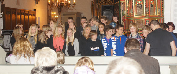 Fantastisk gospelkoncert i Sæby kirke