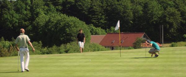 Åbningsturnering og stander-hejsning i Sæby Golfklub