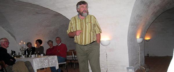 Spændende fortælling i kælderen på Sæbygaard Slot