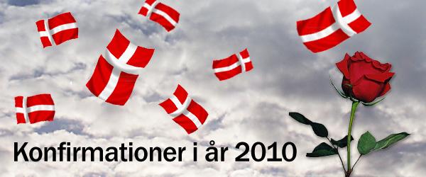 Konfirmationer 2010 i Albæk og Lyngså kirke
