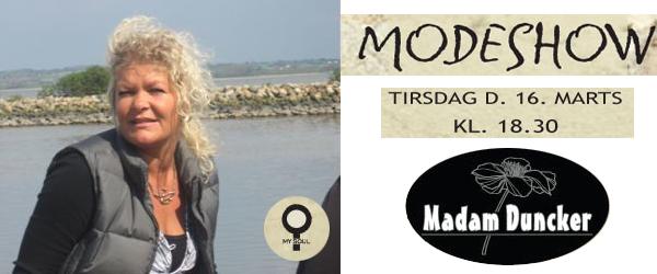 Modeshow hos Madam Duncker i Sæby