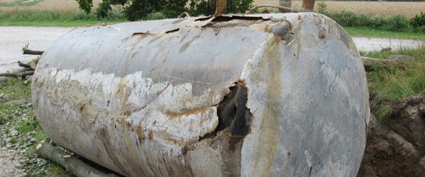 Er din nedgravede olietank ulovlig?