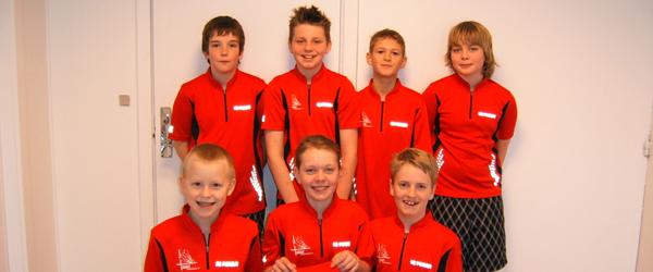 Sæby Badmintonklub U13D pulje vindere