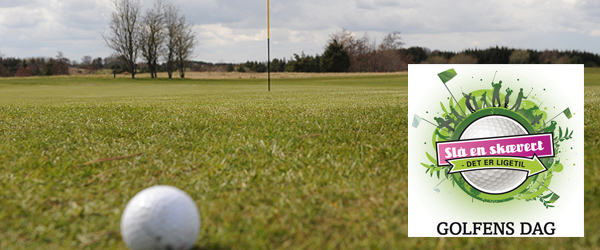 Kom og slå en skævert i Sæby Golfklub – det er ligetil!