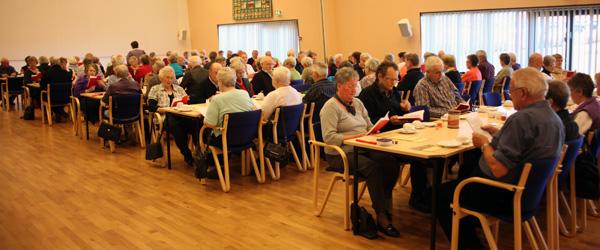 Socialt samvær i Sæby Efterløns- og pensionistklub