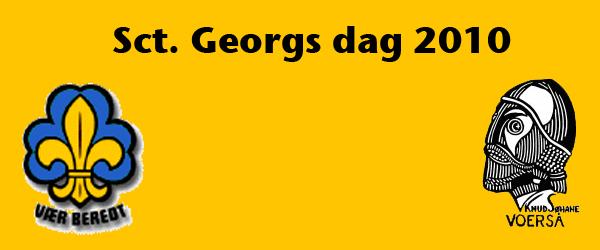 Knud Søhane spejderne holder Sct. Georgsdag