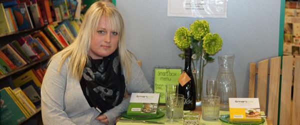 Ann-Sofie holder fagprøve i Bøger & Papir