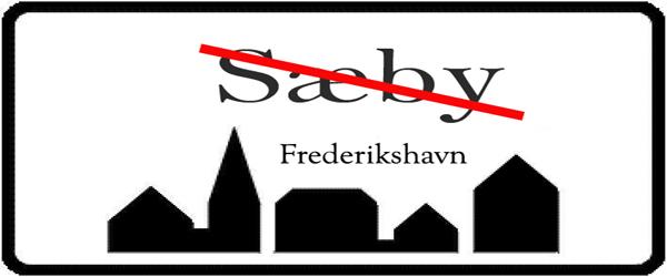 """Ordet """"Sæby"""" fjernes fra Frederikshavn Kommune"""