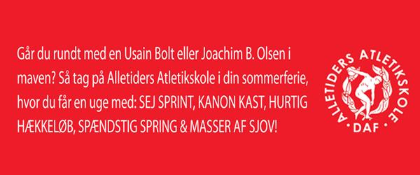 Alletiders Atletikskole i Sæby 2010