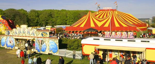 Konkurrence: gæt og vind en tur i Cirkus