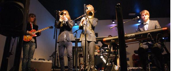 Down Town forvandlet til svedig jazz-hule i aftes
