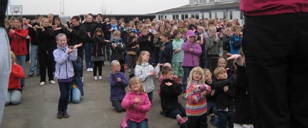 Torslev Skole med på Dansens Dag