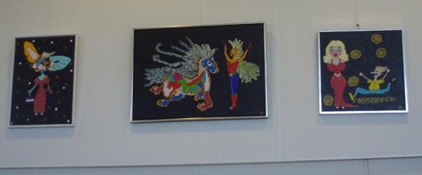 Maleriudstilling på Sæby Bibliotek i maj og juni