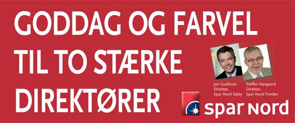 Goddag og farvel i Spar Nord i Sæby