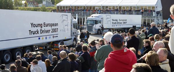 Verdens største chauffør-konkurrence på Im. Stiholt