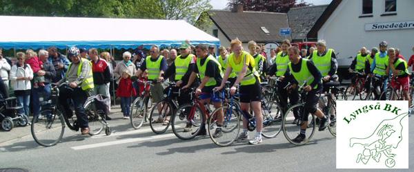 Cykelløbet Tour de Lyngså blev en succes trods vejret