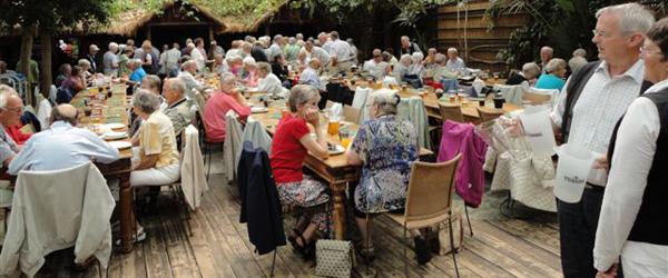 Dejlig tur til Jesperhus med pensionist og efterlønsklubben