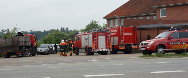 Diesel forurening på Aalborgvej – kun en øvelse