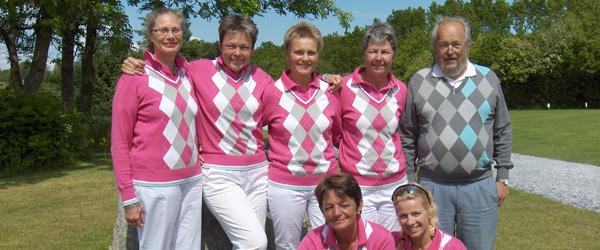 Resultater fra weekenden i Sæby Golfklub