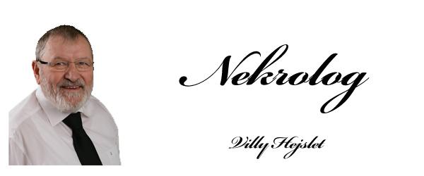 Nekrolog over bedemand Villy Hejslet