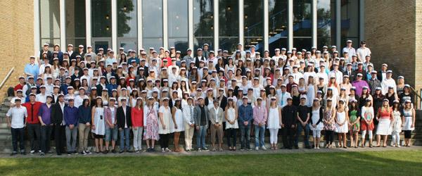 250 flotte huer på Frederikshavn Gymnasium