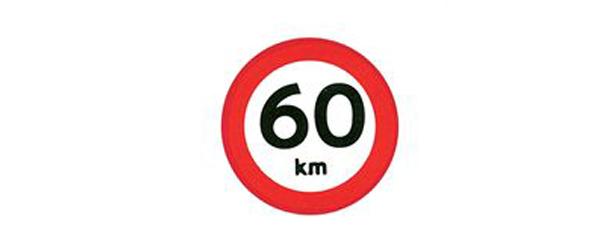 Pas på hastigheds-begrænsningen
