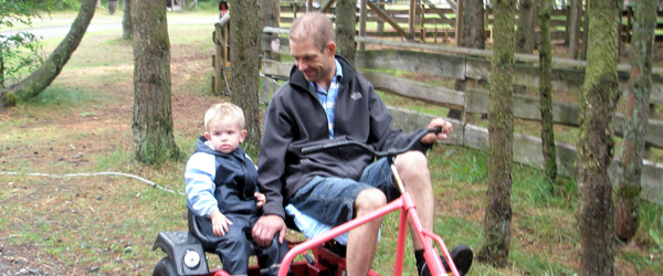 Familietur til Farm Fun i Aalbæk