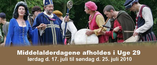 Middelalderdage for fuld skrue på Voergaard Slot