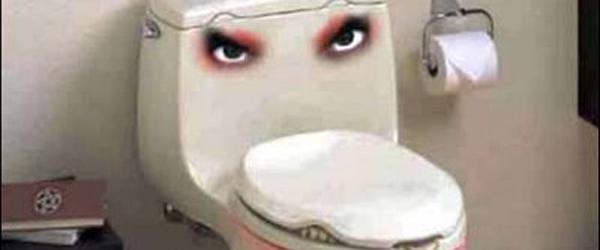 Det er ikke skide godt med de toiletter