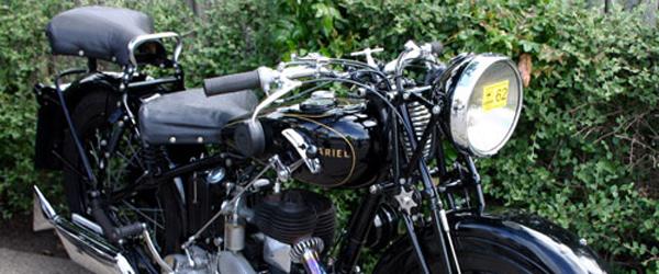 Veteran-motorcykeltræf på Hedebo Camping