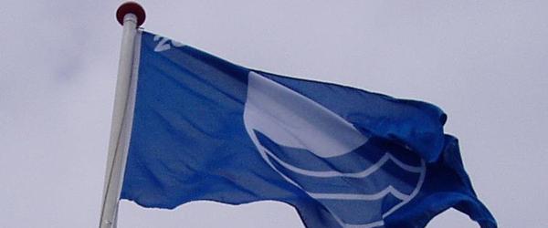 Blåt flag-arrangement på havnen i Sæby