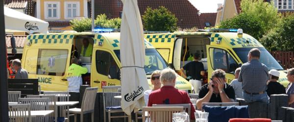 Gaseksplosion hos SLY på Havnen i Sæby