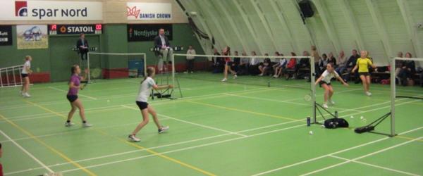 Badmintonstævne i Sæby i weekenden
