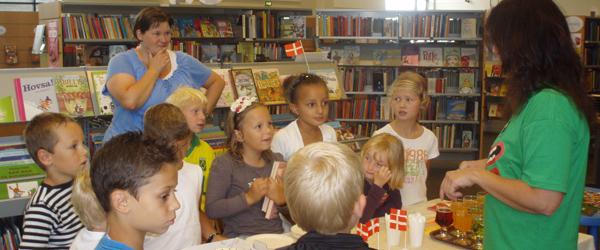 Flot åbning af Pallesgavebod på Sæby Bibliotek