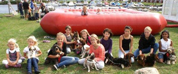 Børnene festede i Voerså – helt gratis!
