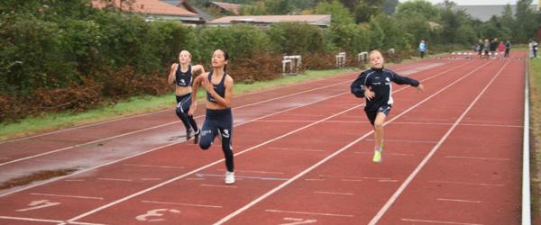 Spar Nord Cup på Sæby atletikstadion
