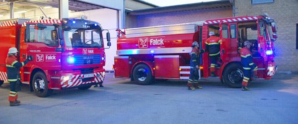 Villa i Sæby hærget af brand i nat